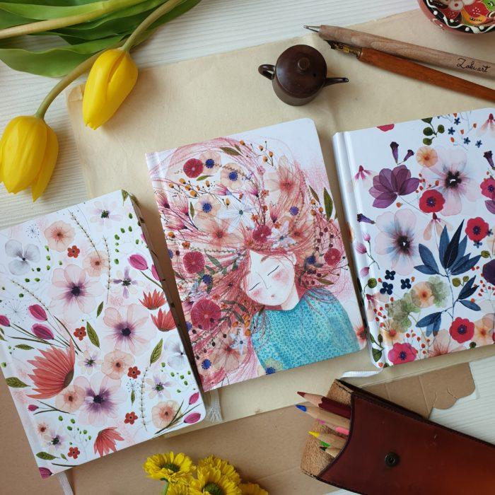 Floral Jotters
